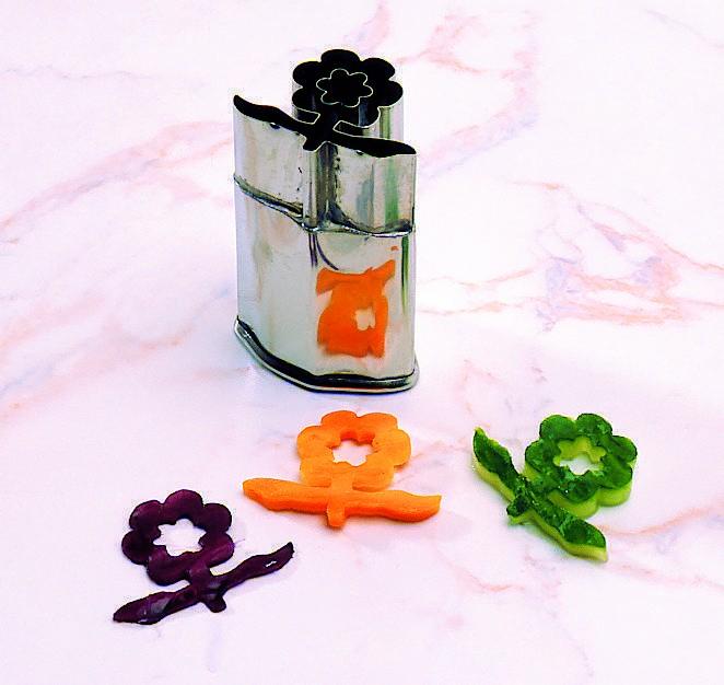 Découpoir fleur de prunier Inox