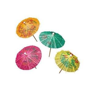 Mini-ombrelles - x144