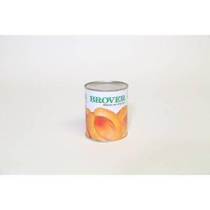 Abricots oreillons sirop - 6 x 4/4