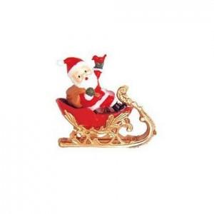 Père Noël sur traîneau