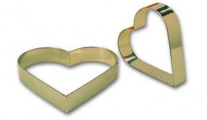 Cœur entremets. 16 cm - 16 cm