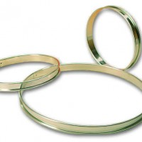 Cercle a tarte inox. 24 cm - 24 cm