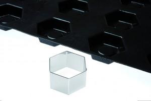 Découpoir hexagone