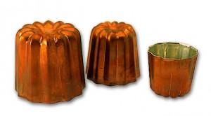 Cannelé cuivre. C - C