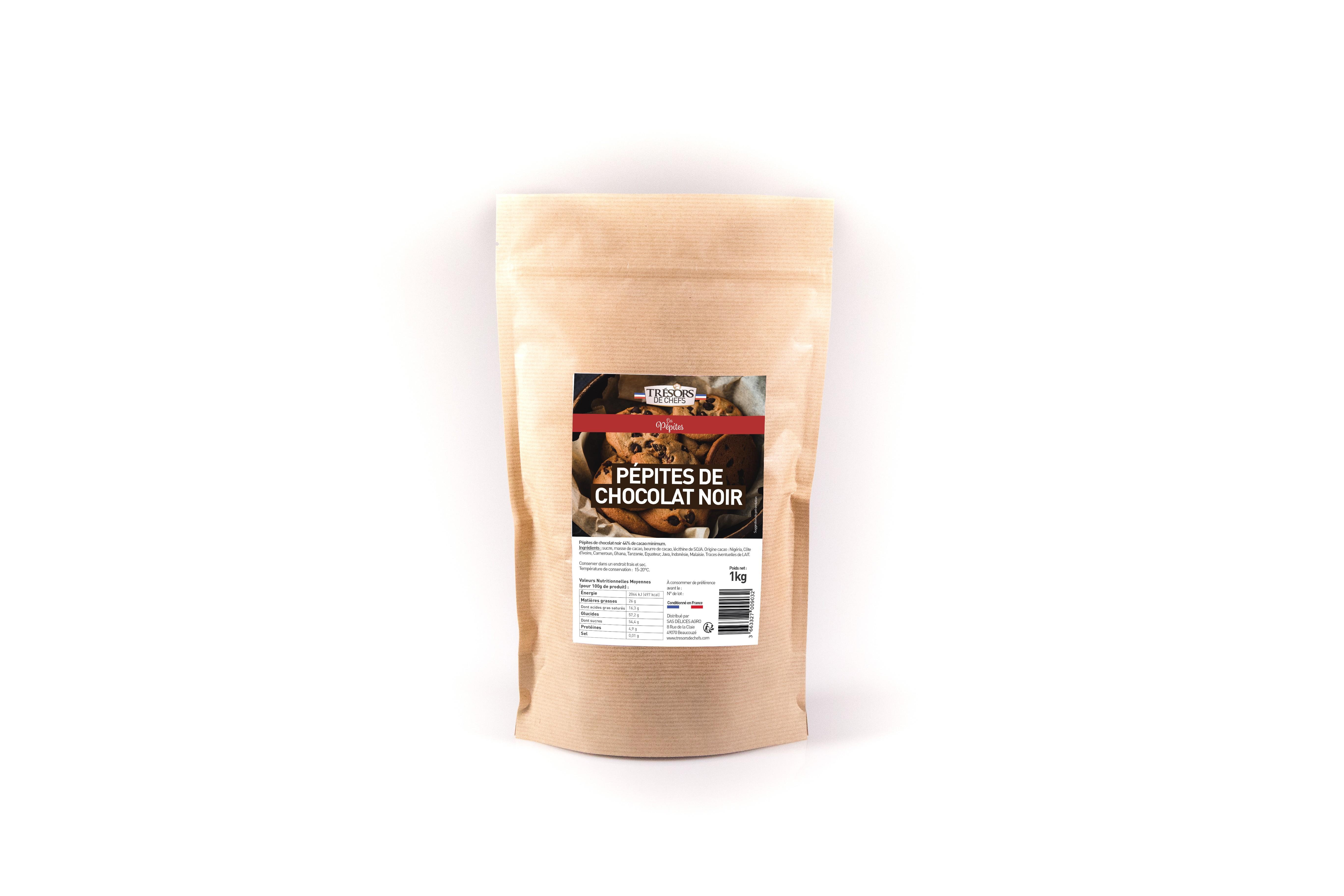Pépites de Chocolat Noir - 1 kg