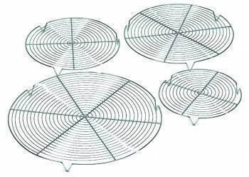 Grille ronde à pieds 20 cm - 20 cm