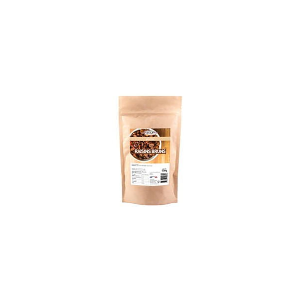 Raisins Secs bruns entiers - 500 g