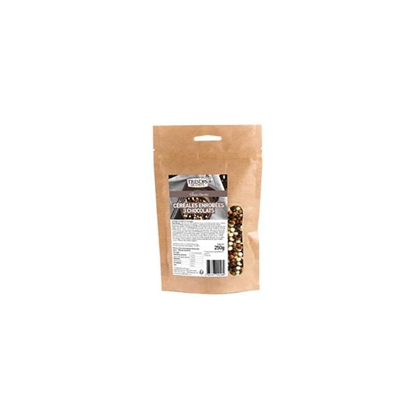 Céréales enrobées 3 chocolats - 250 g