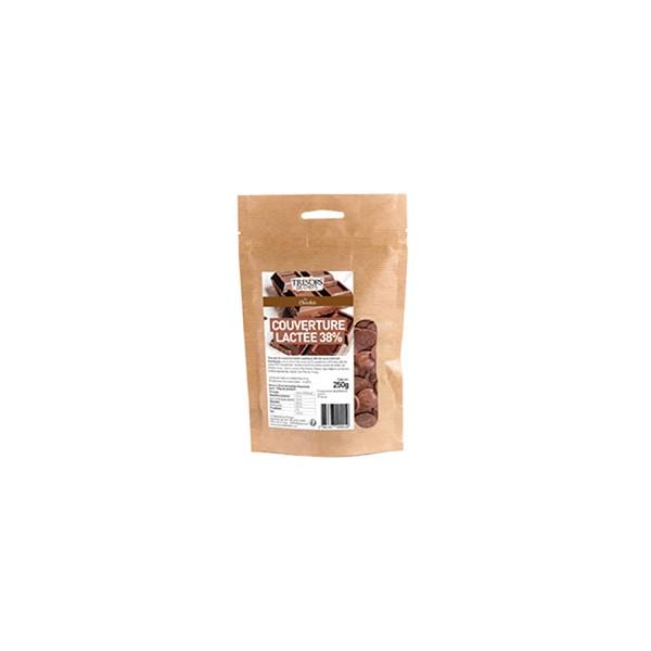 Chocolat au lait supérieur 38% - 250 g