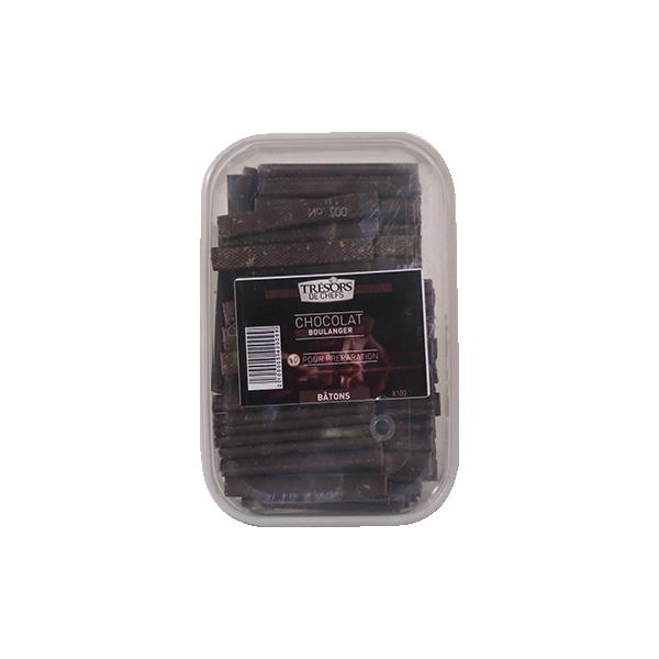 Bâtons de chocolat - 100 unités - 100 unités