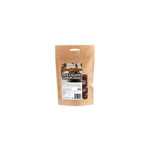Pâte à glacer saveur cacao - 250 g