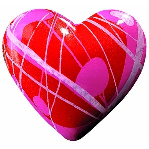 Coeur rouge cb - x63