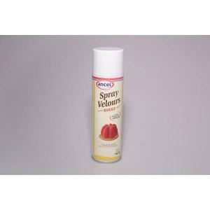 Bombe spray velours rouge