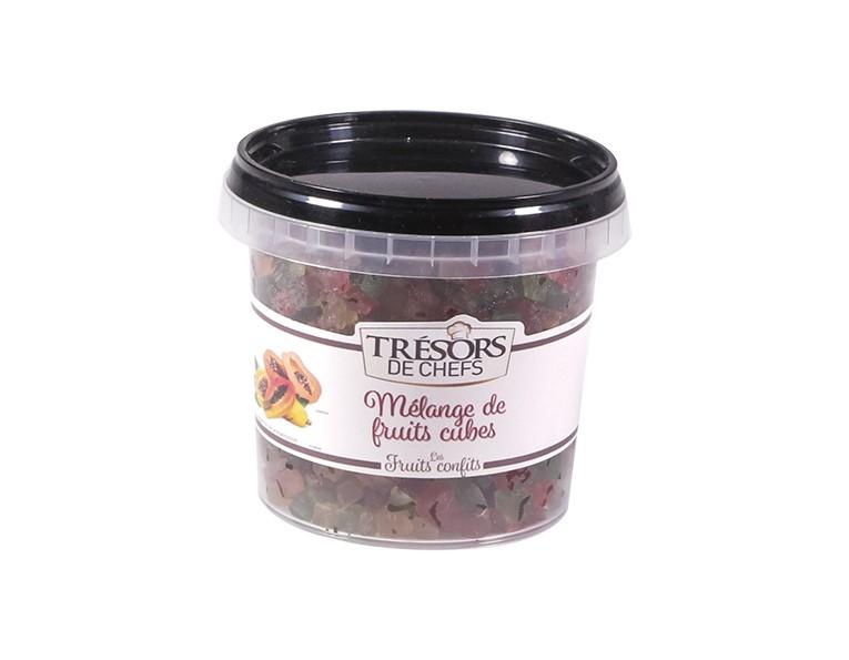 Cubes fruits confits - 250 g