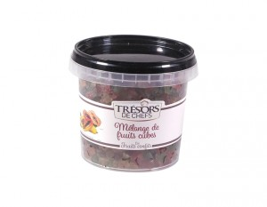 Cubes fruits confits - 250 g