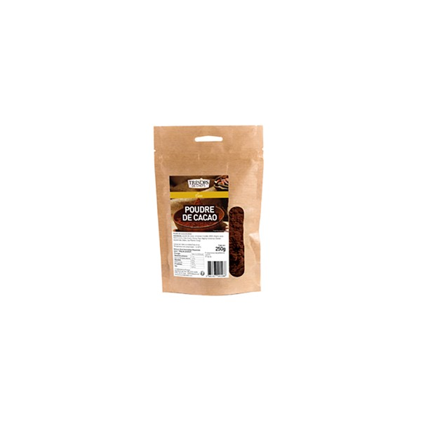 Poudre de cacao 100% - 250 g