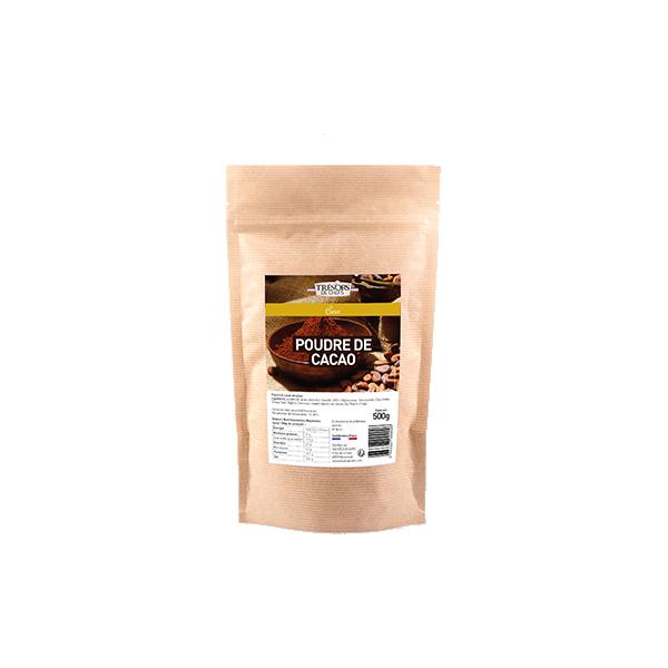 Poudre de cacao 100% - 500 g