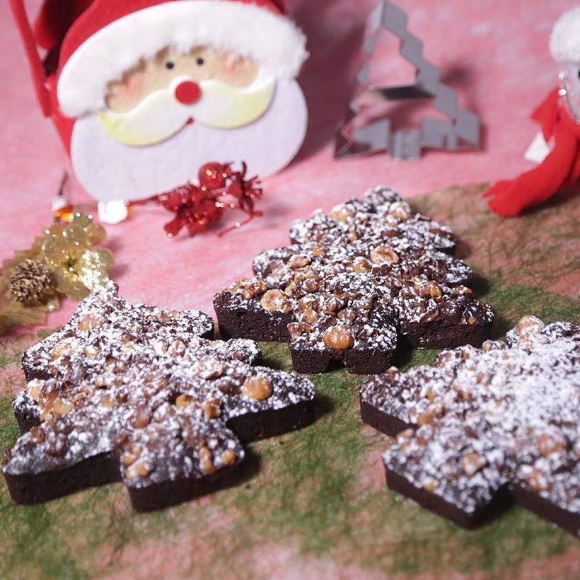 Recette de sapins croquants au chocolat