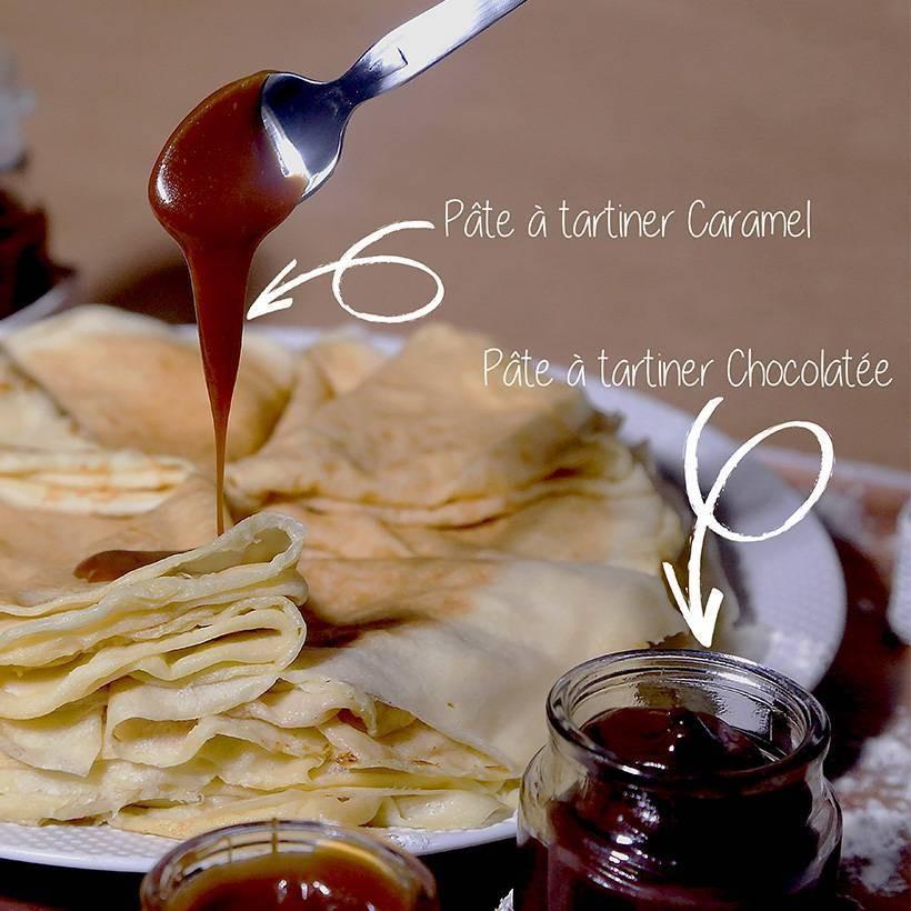 Recette de pâte à tartiner chocolatée
