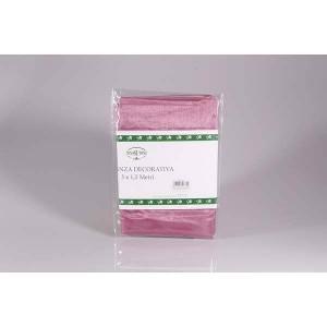 Tissu organza vieux rose