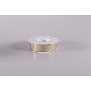 Ruban taffetas paillette - 25 mm x 25 mts
