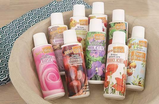 Arômes alimentaires naturels et liquides