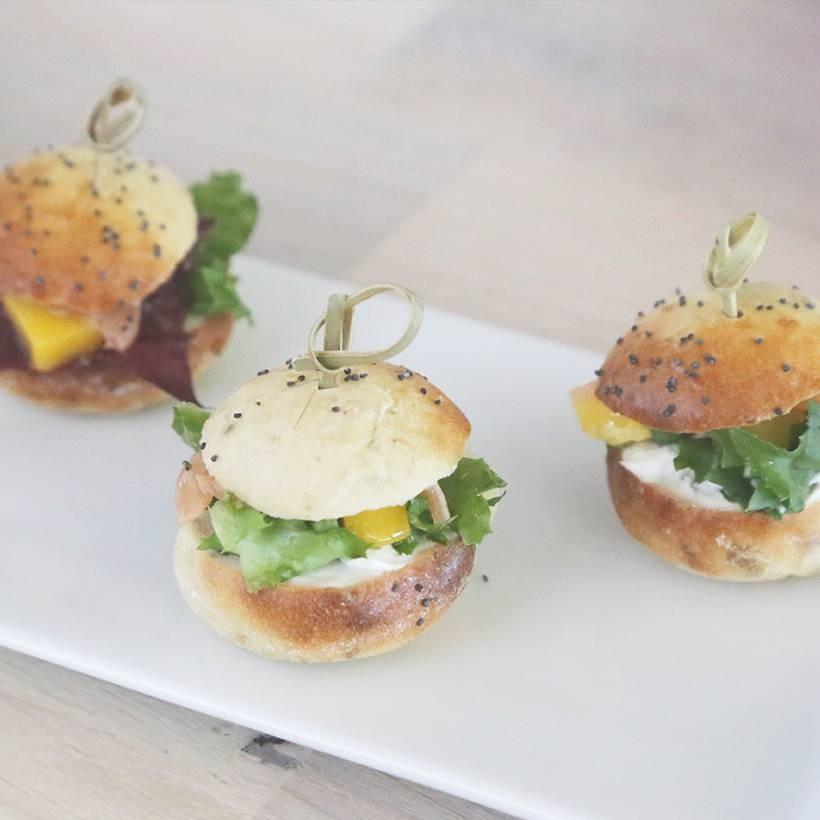 Recette de mini burgers saveur d'Asie