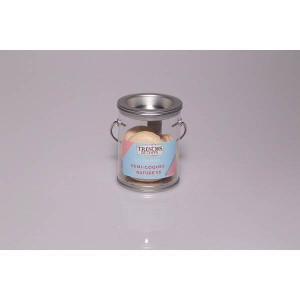 Demi-coques macaron - Beige