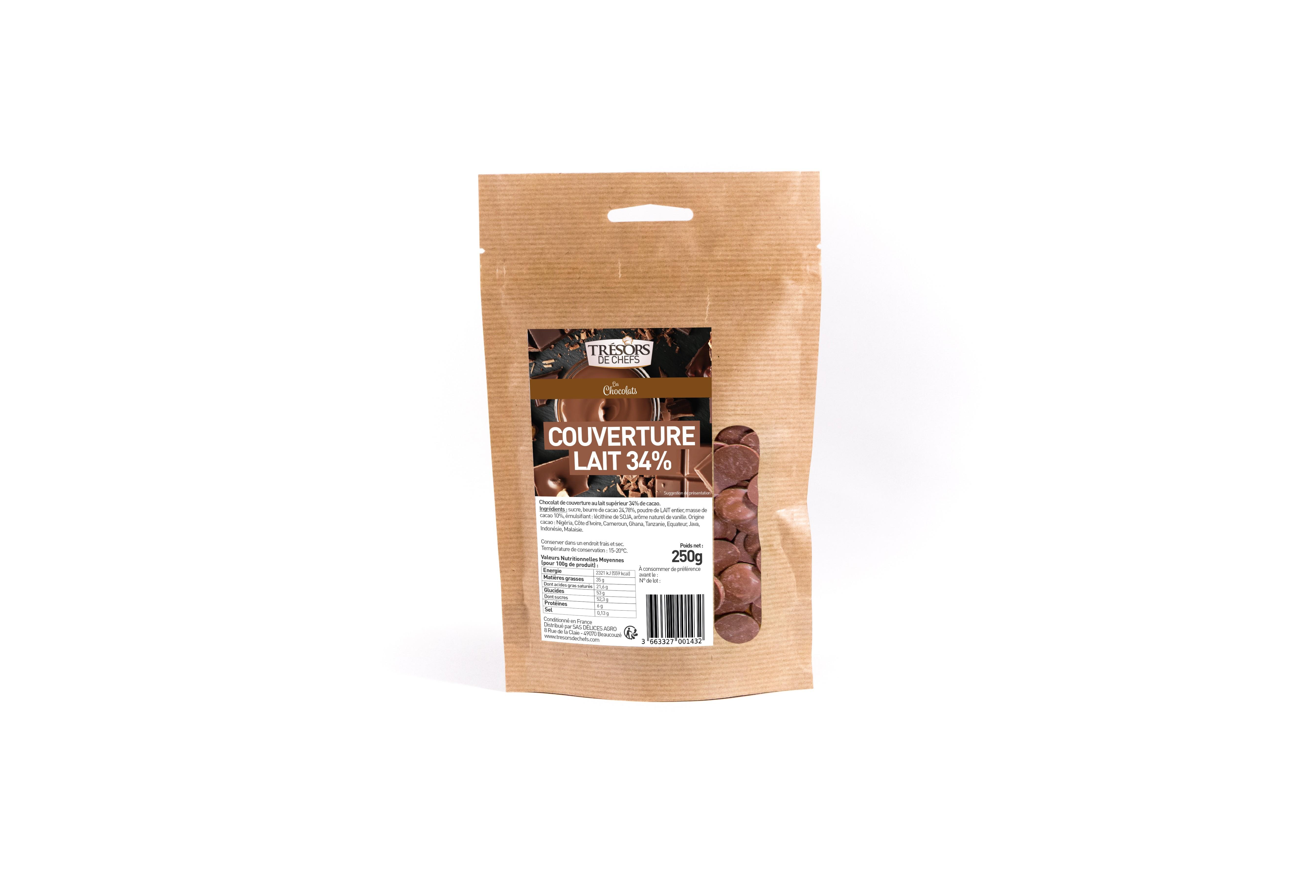Chocolat au lait - 250 g
