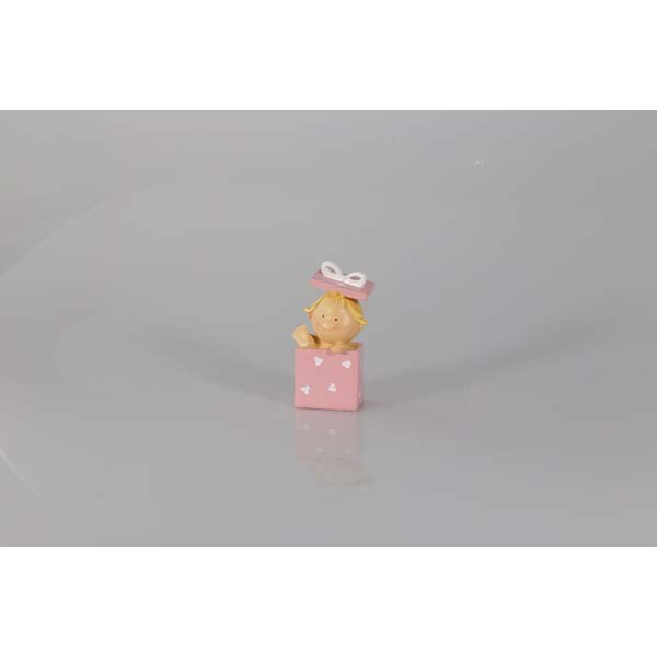 Bébé rose boîte cadeau