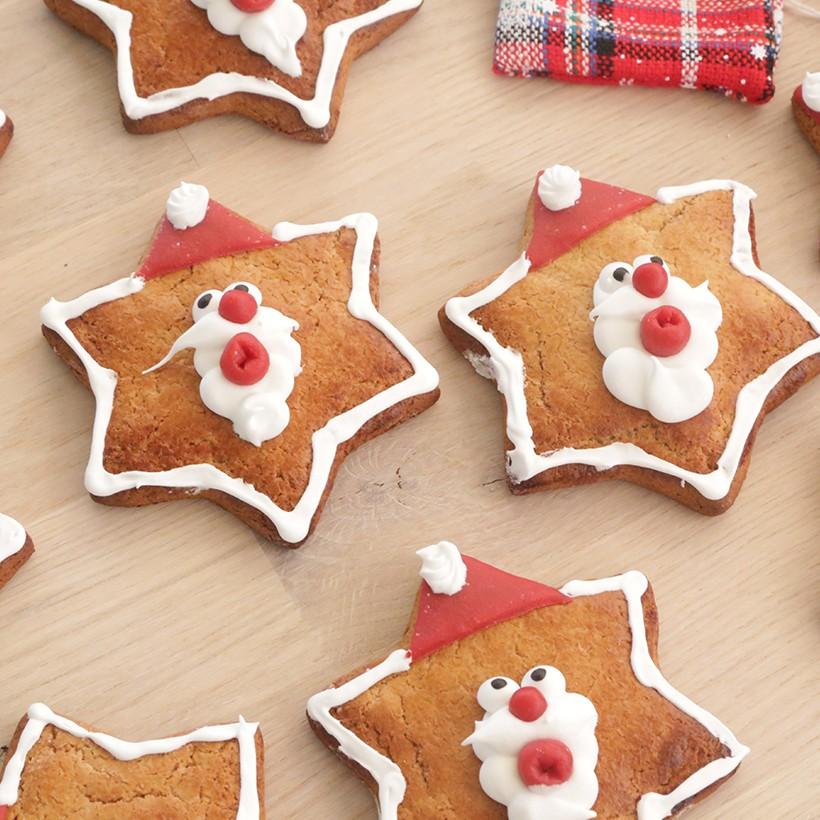 Recette de pains d'épices Père-Noël