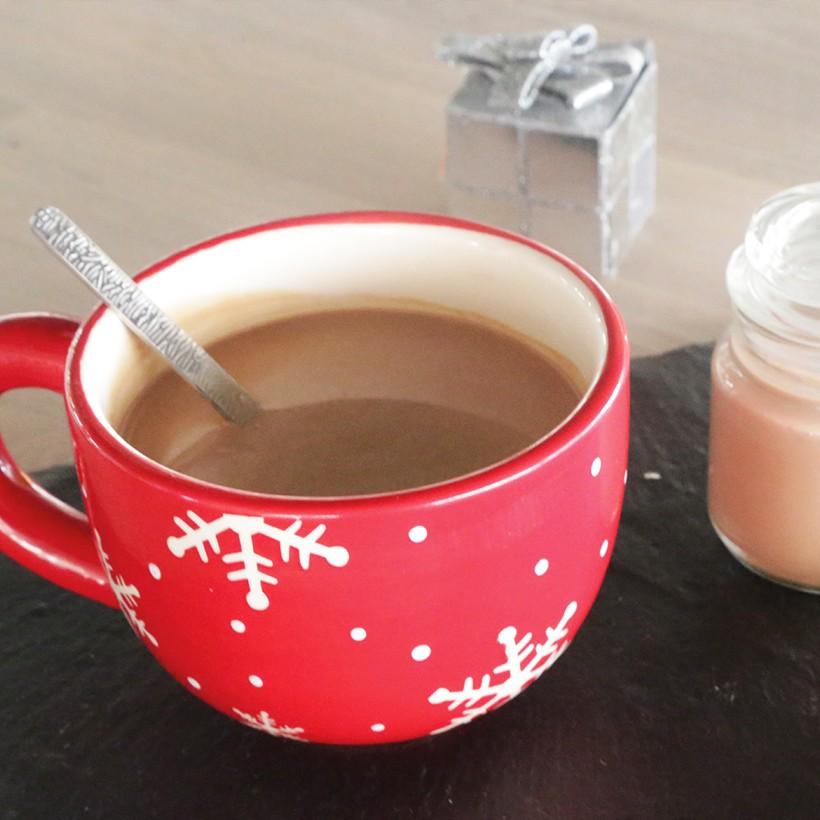 Recette de thé aux deux chocolats