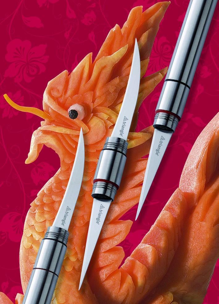 Couteau à sculpter 2 lames