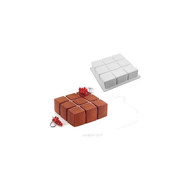 """Moule carré """"cubik"""""""