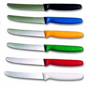 Couteau cranté