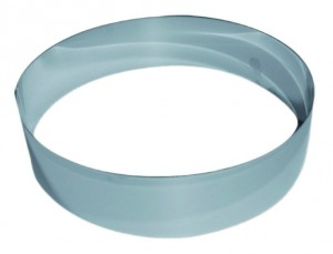Cercle inox 18cm