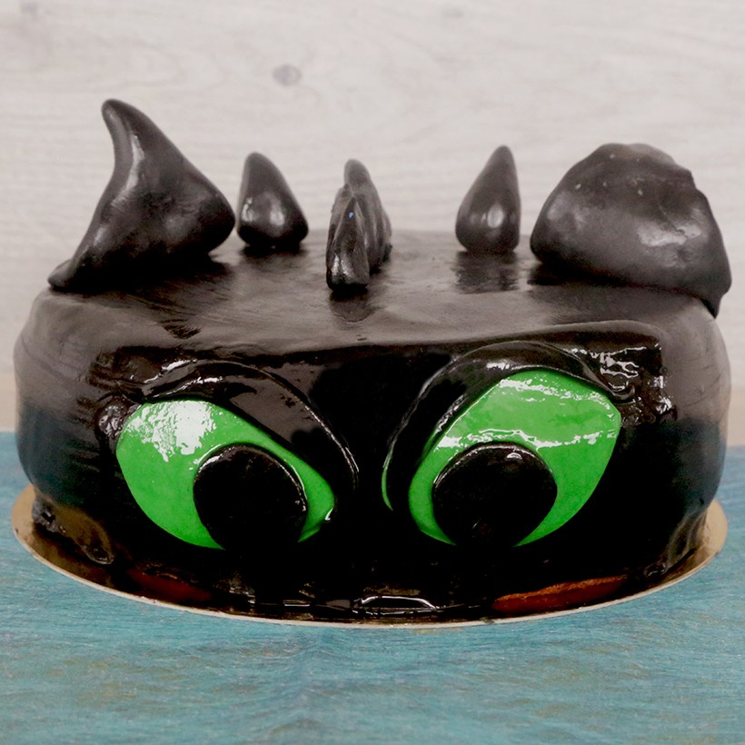 Gâteau d'anniversaire Krokmou