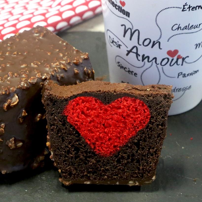 Recette de cake St Valentin