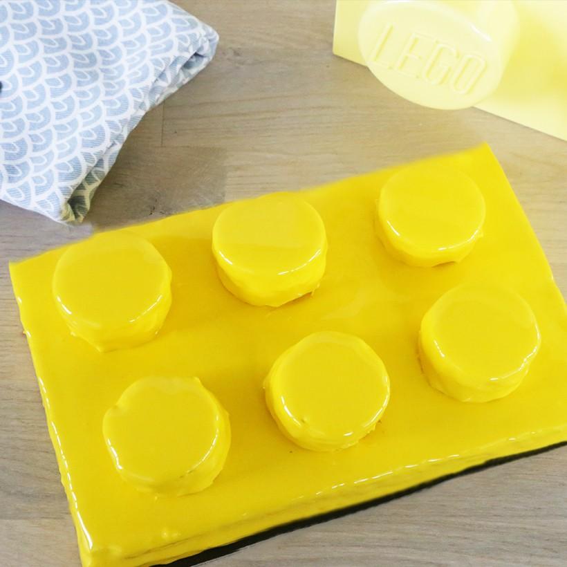 Recette de gâteau en forme de LEGO