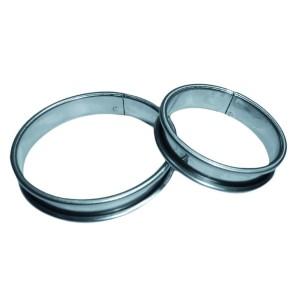 Cercle à tarte inox 22 cm
