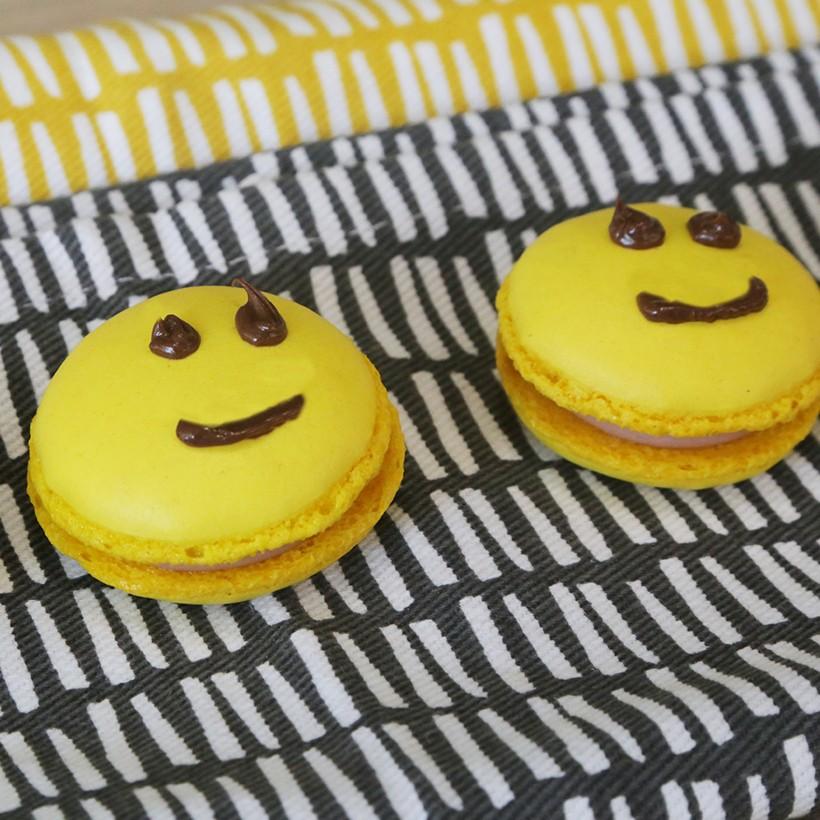 Recette de macarons smiley