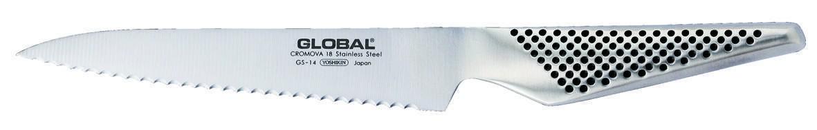 Couteau à lame crantée