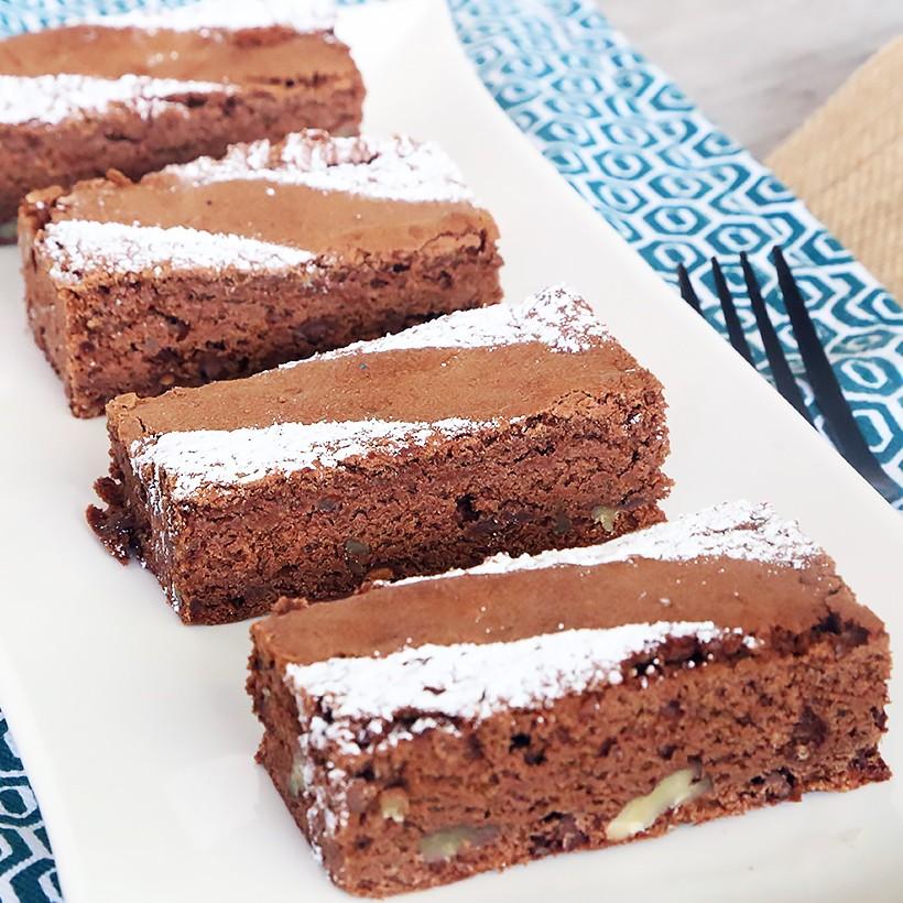 Recette de brownie noix de pécan caramel