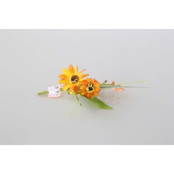 Piquet gerbera orange
