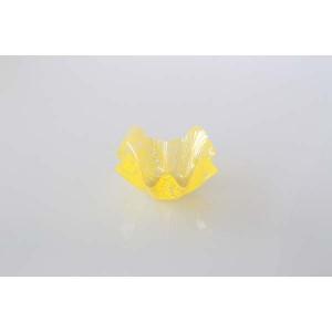 Contenant PVC jaune - petit