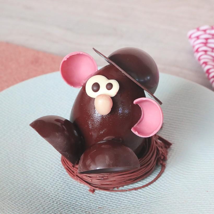 Recette de personnage en chocolat