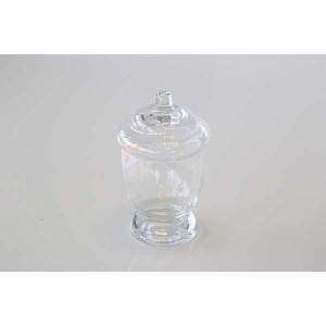 Bonbonnière en verre forme cône