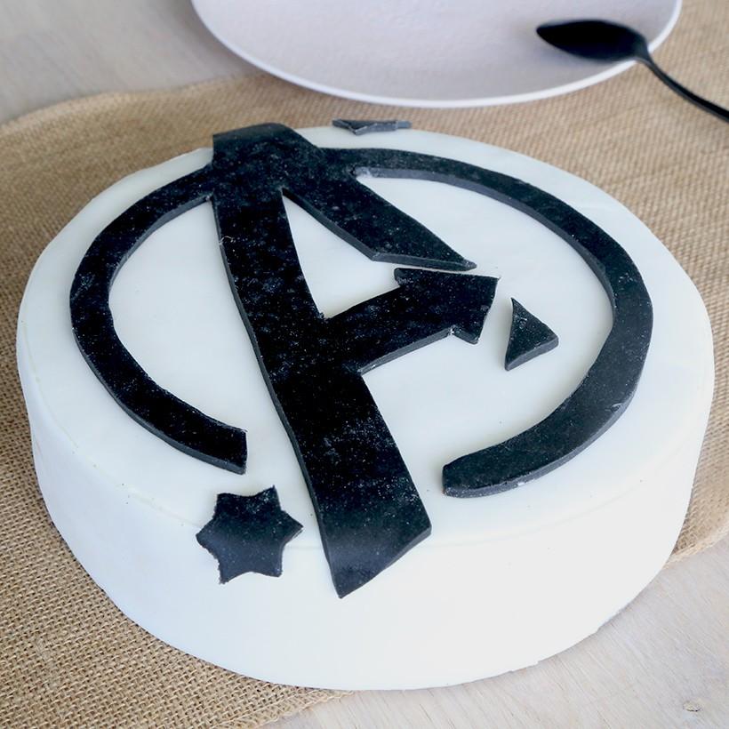 Recette de gâteau Avengers