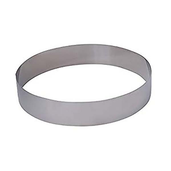 Cercle mousse inox 14