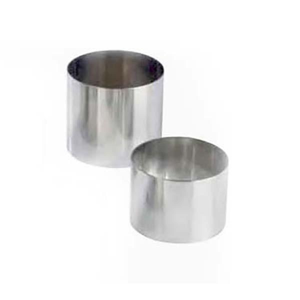 Nonnette ronde inox- 7cms